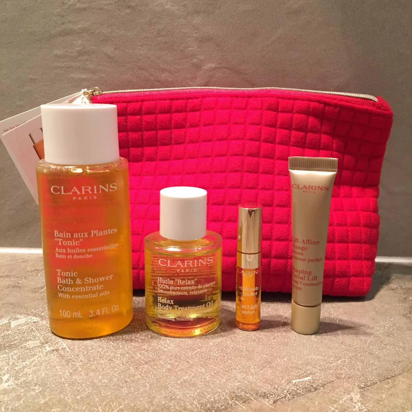 32b0d5bd8bfd Clarins Chinese New Year gift with purchase