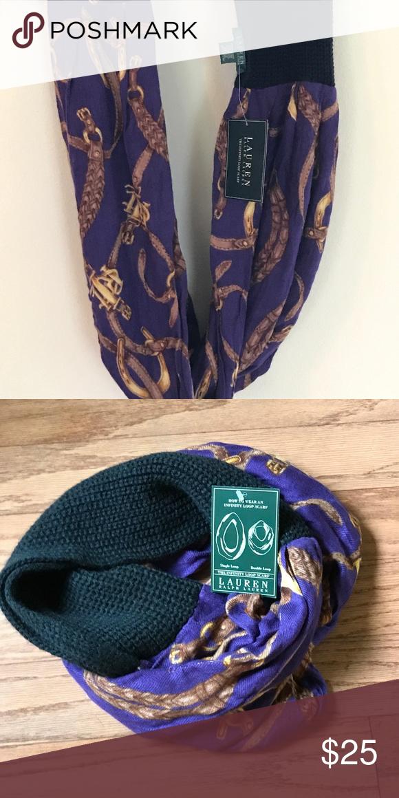 Ralph Lauren Ralph Lauren equestrian infinity scarf Ralph Lauren Accessories