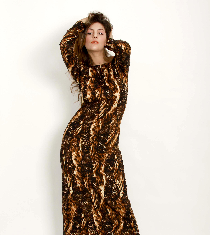 Vestido animal print   $99  Talle: (1 y 2)