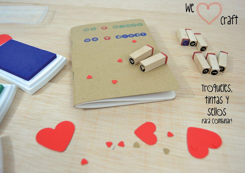 We ♥ craft, craft para regalar y ser regalado!! Tintas y sellos de scrapbooking! http://idoproyect.com/youdo/we-love-craft/