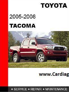 2005 2008 toyota tacoma service repair manual pdf 2006 toyota rh pinterest com 2008 toyota tacoma haynes manual 2007 toyota tacoma repair manual pdf