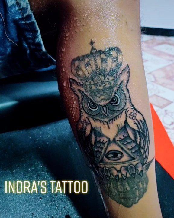 👩🏻🎨 Indra's Tattoo Studio 🦉 Owl Tattoo design #tattoo #tattooartist #artist #tattoolover #tattoomodel #owltattoo  #wardha #maharashtra #lifestyle #art #artlover #marathigirl #colour #tiktokindia #tiktok #tiktoklover #tiktokmaharashtra #tattoogirls #tattooboys
