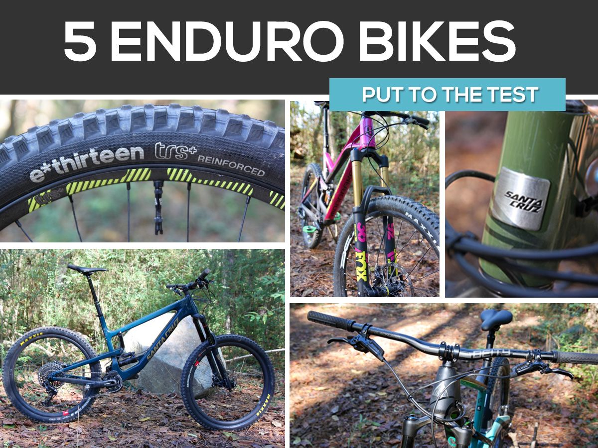 I Tested 5 Enduro Bikes In 24 Hours To Determine Which One Was