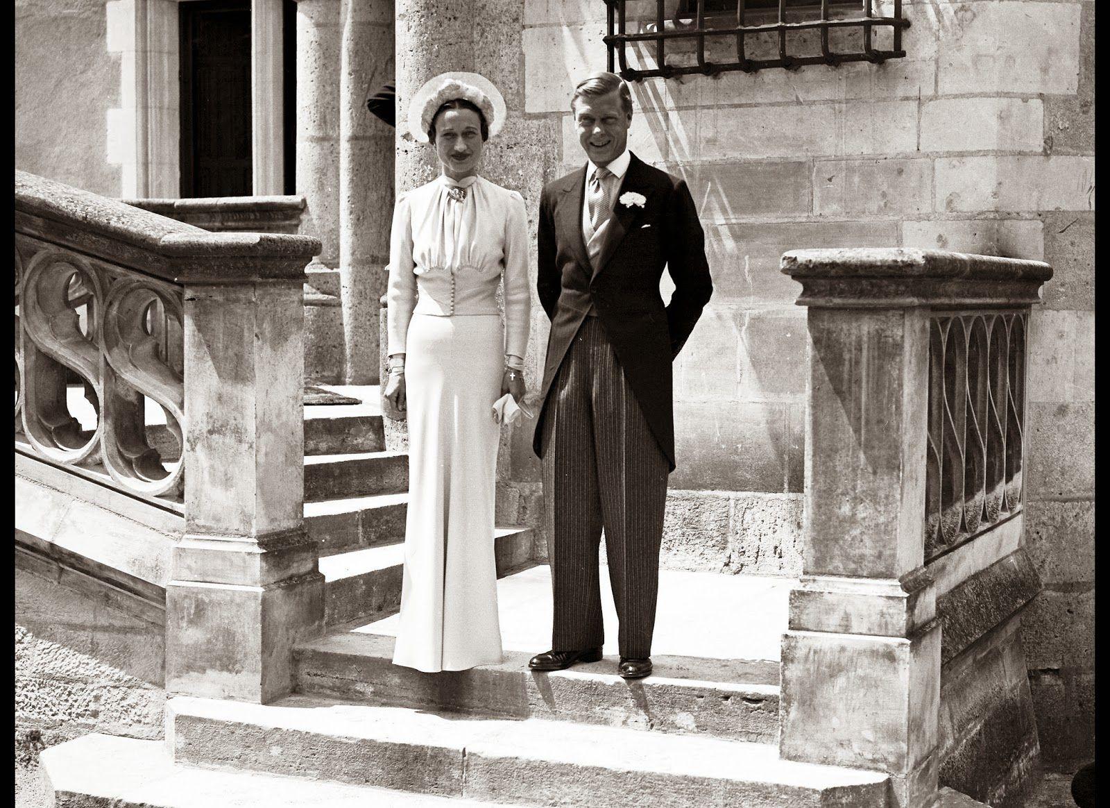 Wallis simpson wedding dress  The Duchess of Windsor Wallis Simpson was an American socialite