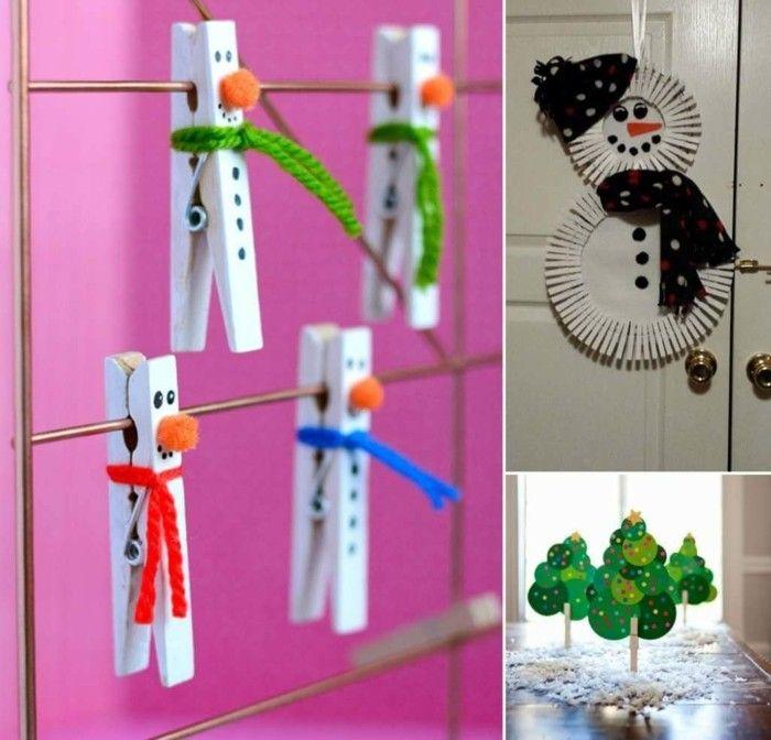Weihnachtsdeko Basteln Mit Wäscheklammern