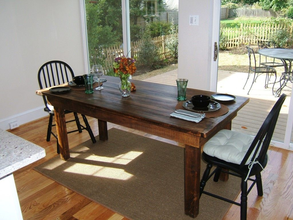 Reclaimed Wood Farm Table By Stable Tables