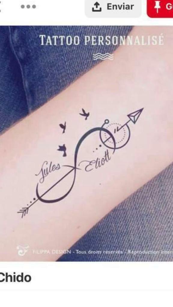 Pin De Hector En Trabajo Por Hacer Tatuaje De Infinito Con Nombres Infinitos Con Nombres Tatuajes De Corazon Con Nombre