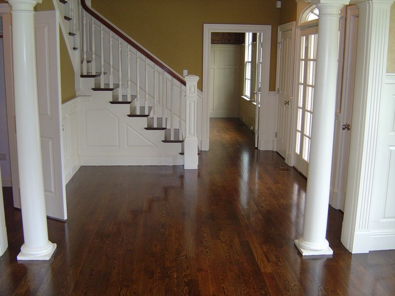 Duraseal Coffee Brown Stain On Maple Floor Decorating Ideas