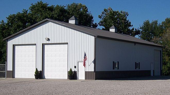 Commercial Truck Garage Semi
