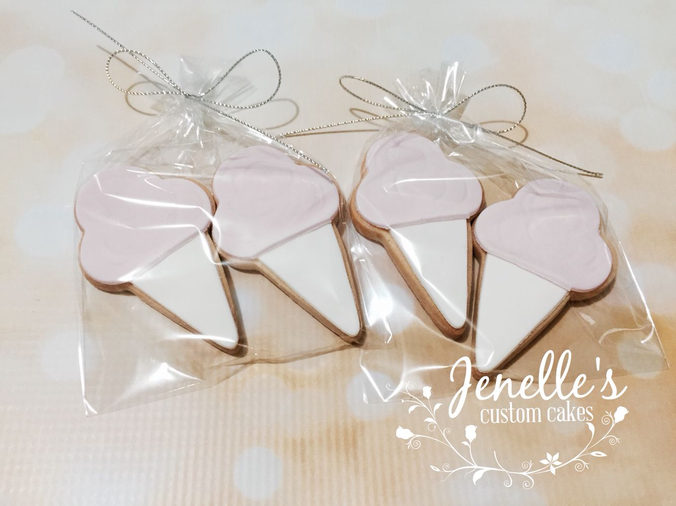 Fairy floss cookies. By Jenelle's Custom Cakes!