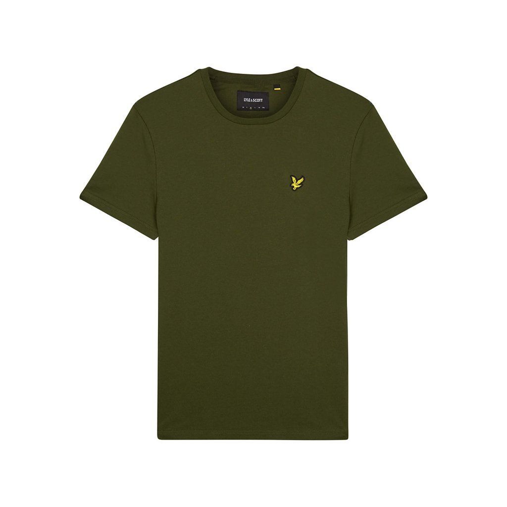 b9e809dcc103 Lyle & Scott Crew Neck T-Shirt - Woodland Green | Lyle & Scott ...
