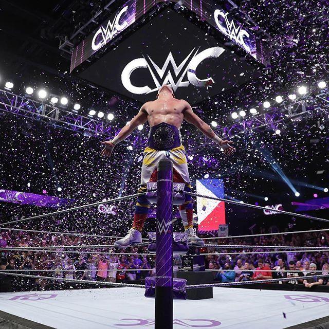 New Cruiserweight Champion | Tj perkins, Enzo amore, Champion