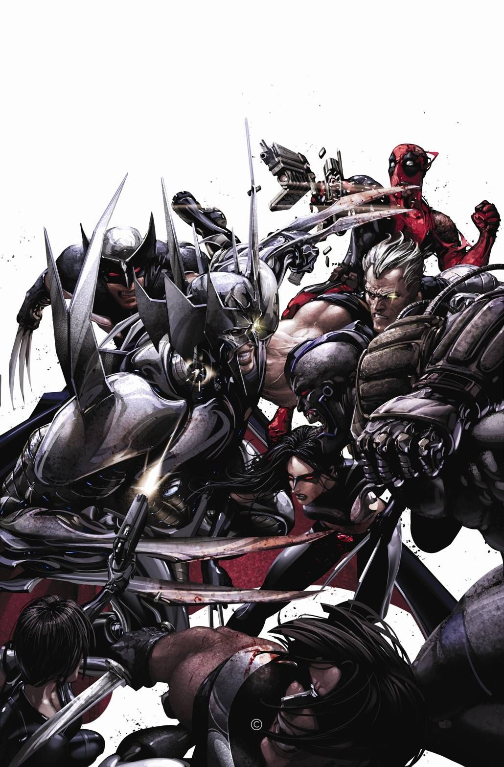 ✭ X-Force #16 by Clayton Crain  Auction your comics on http://www.comicbazaar.co.uk