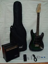 Electric Guitar With Amp Ebay Black Electric Guitar Electric Guitar And Amp Electric Guitar