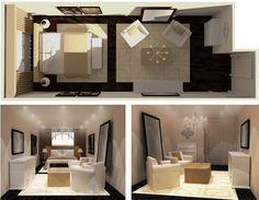 Ask S&C: Hotel-Chic Bedroom - Steven and Chris | Long narrow bedroom ...