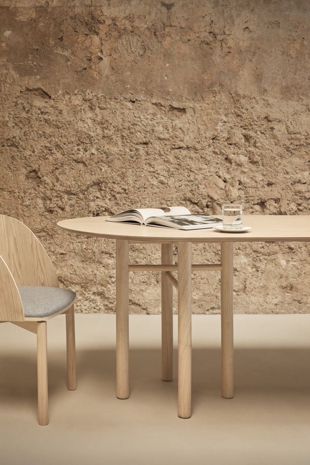 Junco Table Natural Dining Table Table Dining