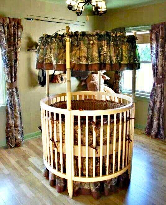 Realtree Camo Baby Nursery