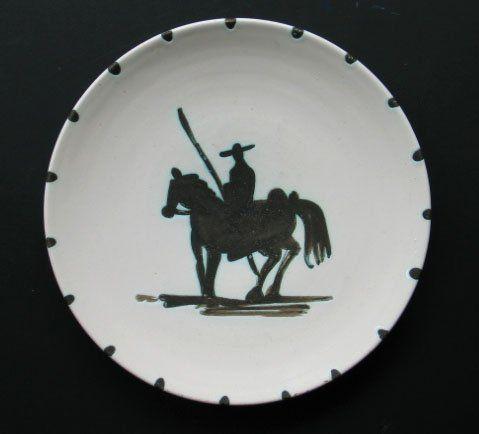 picasso ceramics catalog | ... 11664 pablo picasso original signed ceramic plate pica view catalog