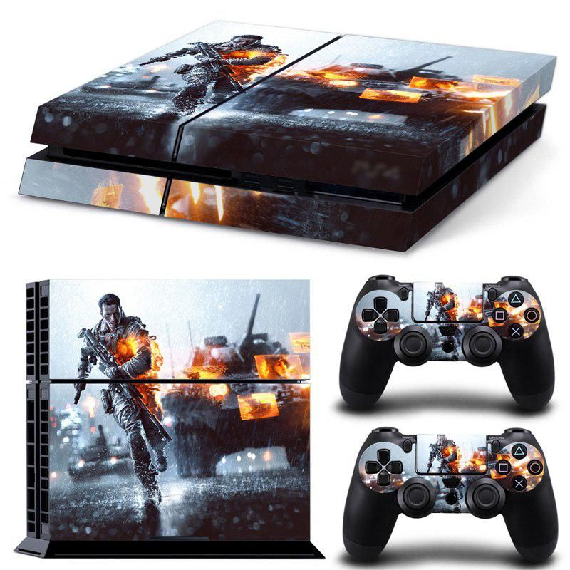 Oststicker Games Tank Vinly Decal Skin Protector Sticker Controller For Ps4 Stickers For Ps 4 Skins Cover