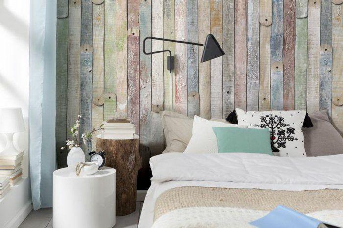 Schön wand tapeten holzoptik Bedroom Pinterest Bedrooms