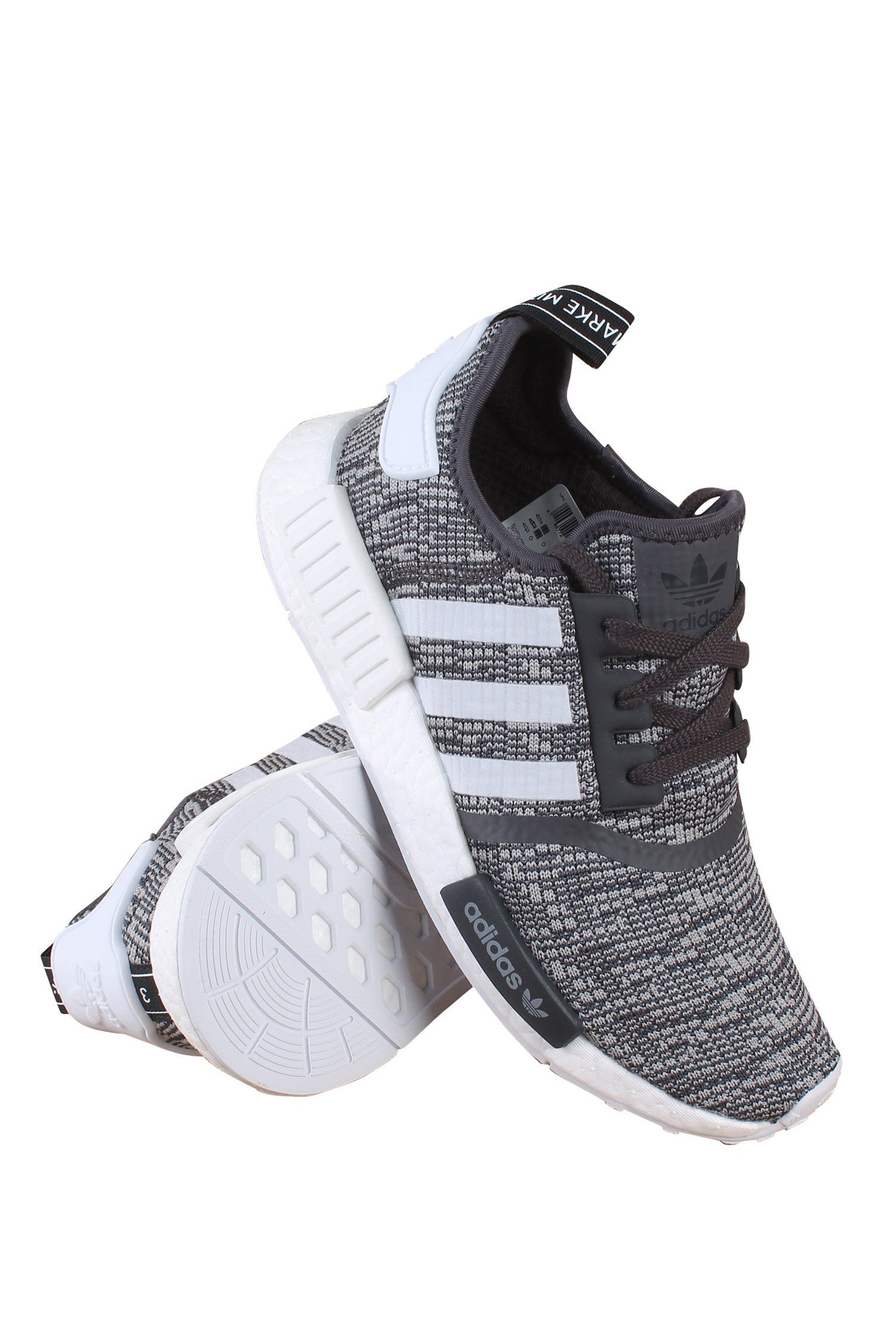 Adidas NMD R1 Glitch Women s Midnight Grey 10 BY3035