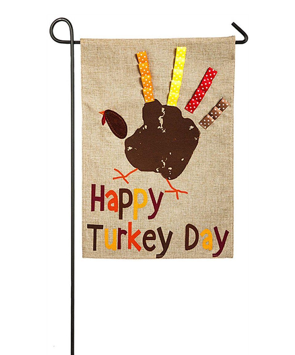 Look At This Zulilyfind Happy Turkey Day Outdoor Flag