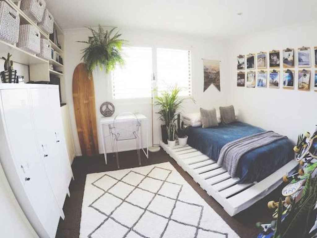 60 Small Apartment Bedroom Decor Ideas On A Budget (51 images
