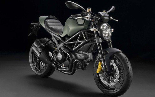 Uma moto Ducati vestida de Diesel - Máquinas - iG