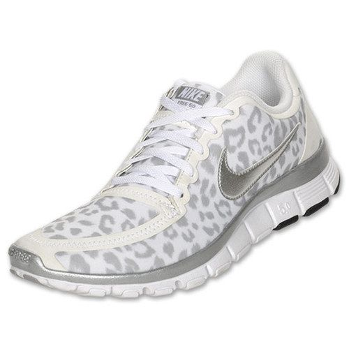huge selection of 1312c fbd6a Nike Womens Free 5 0 V4 White Leopard - clothing, wadulifashions, women