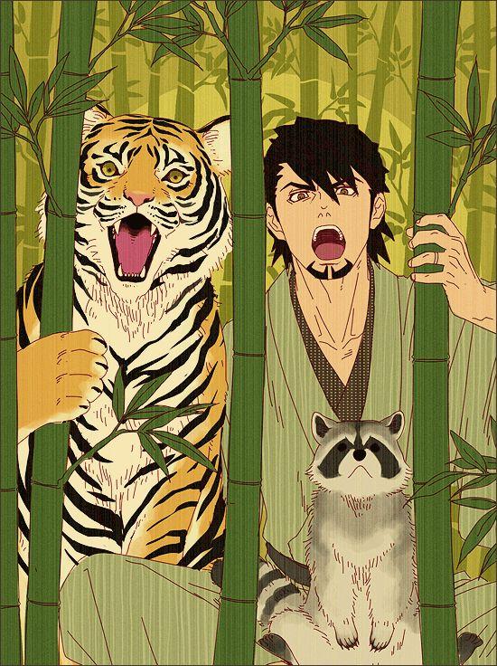 虎とTIGER&BUNNYワイルドタイガー