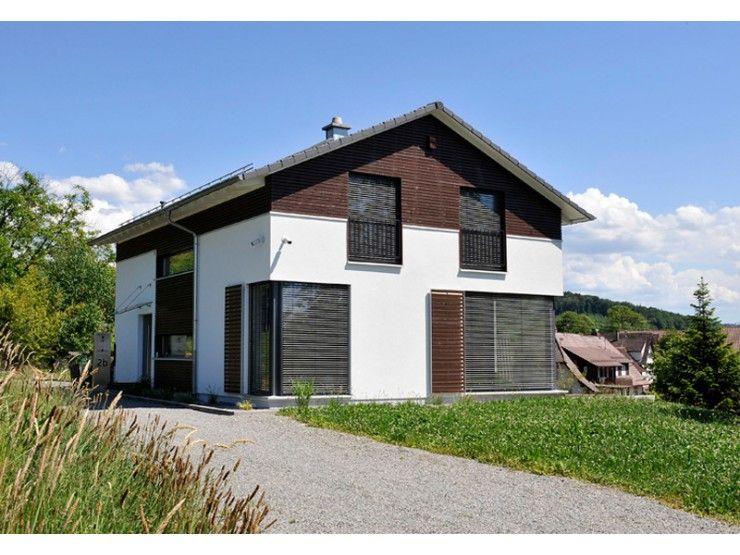 Design 161 einfamilienhaus von frammelsberger r for Blockhaus modern einrichten