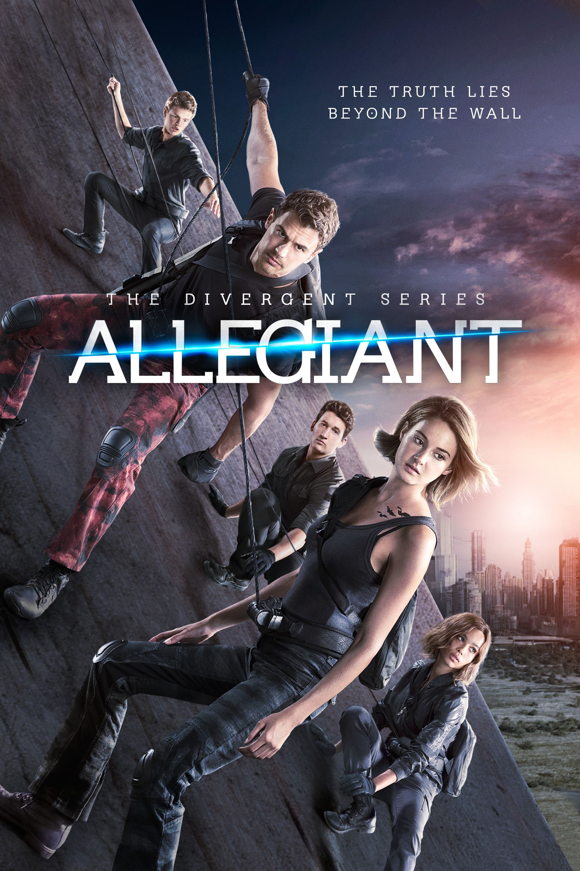 Allegiant (2016) Hindi Dual Audio 480p BluRay x264 ESubs 350MB