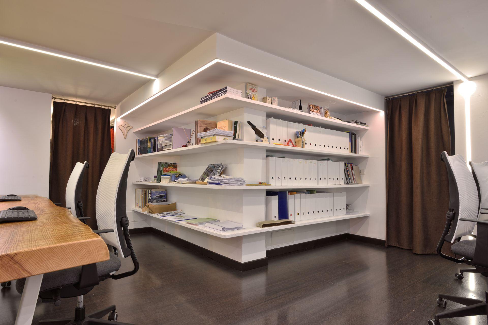 living legno tavoli se libreria bianco colore lavoro