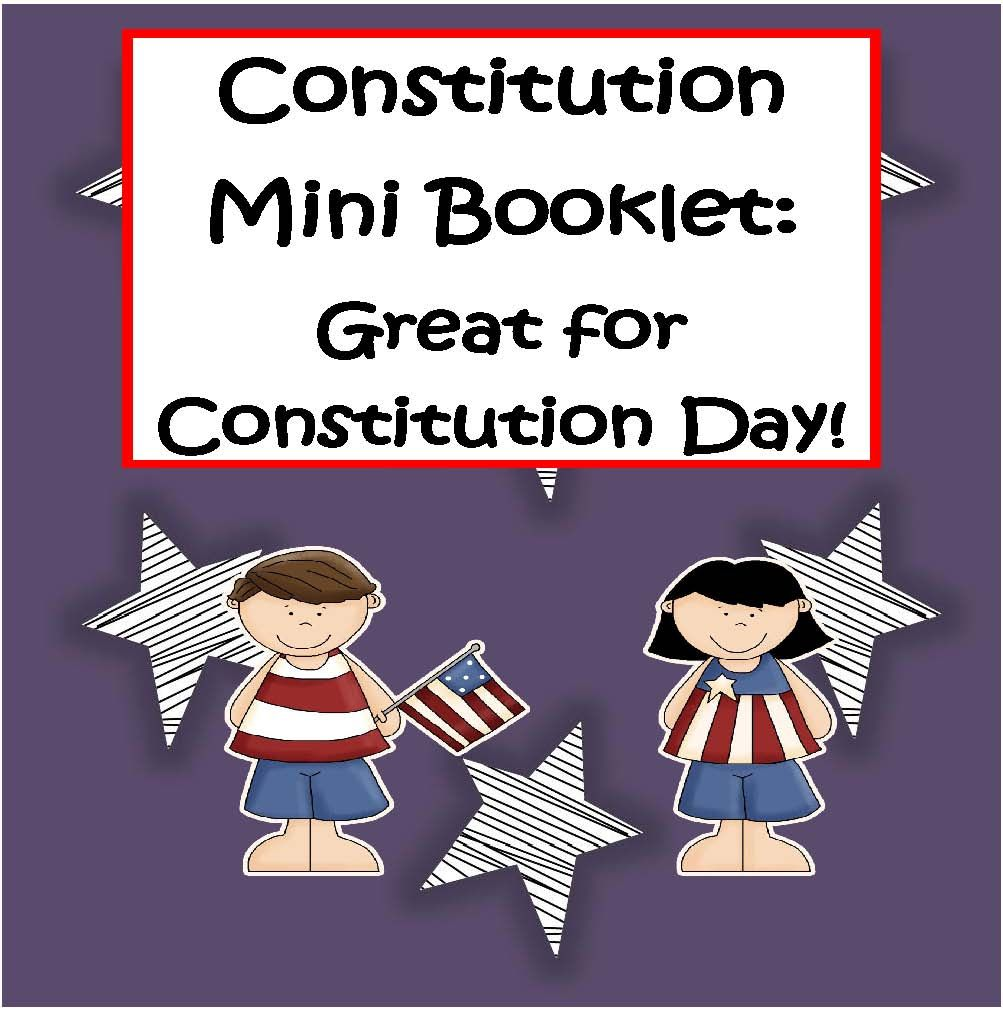 Worksheets Constitution Day Worksheets publishers tech girl constitution mini booklet great for day