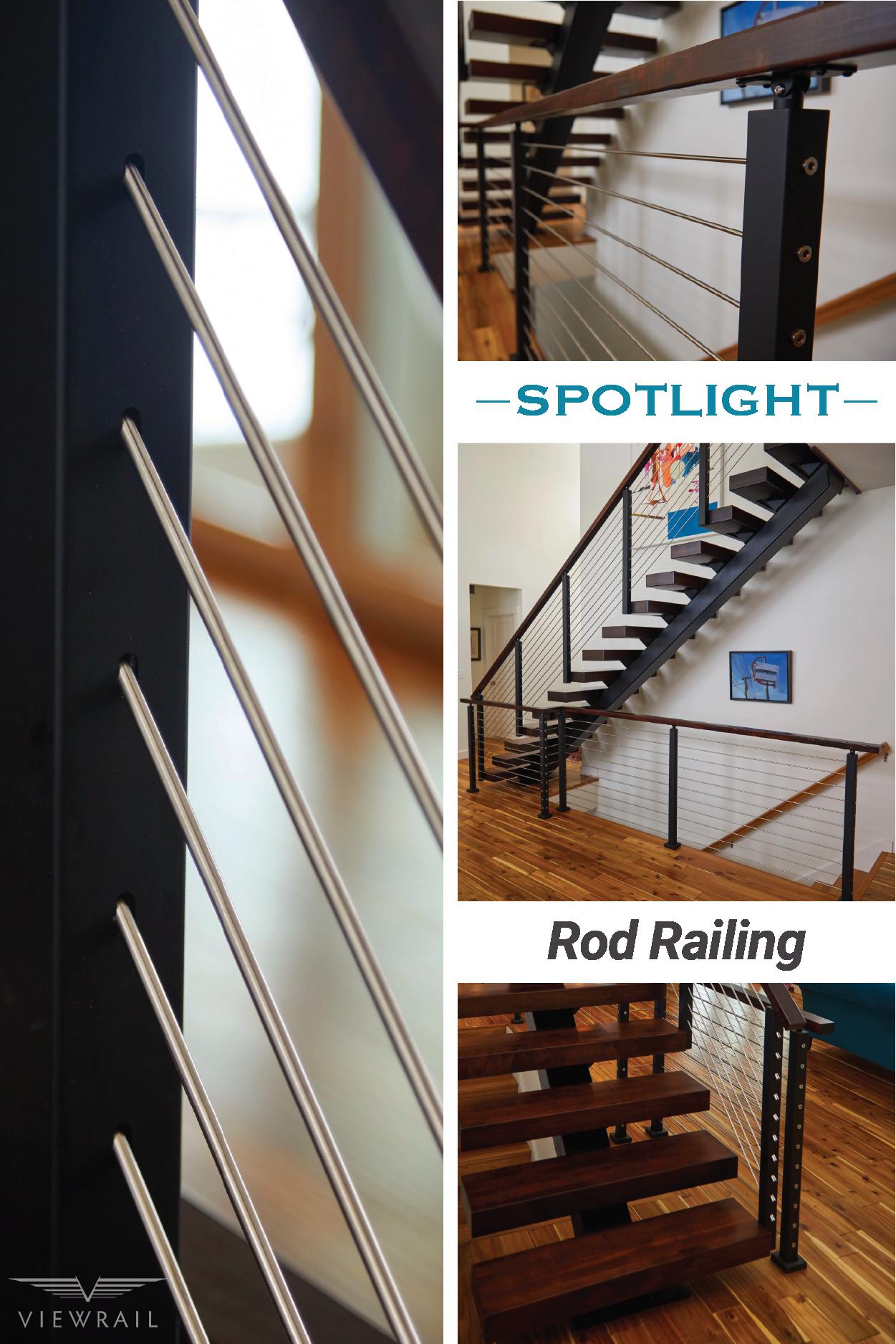 Stainless Steel Railing | Stair railing kits, Modern ...