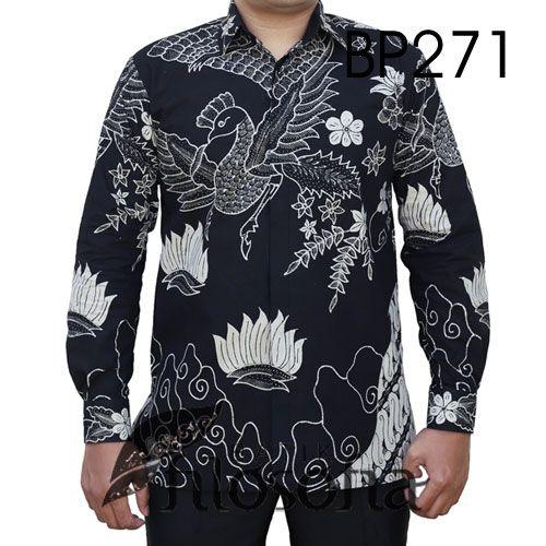 Kemeja Dari Batik Tulis: Batik Tulis Asli 271