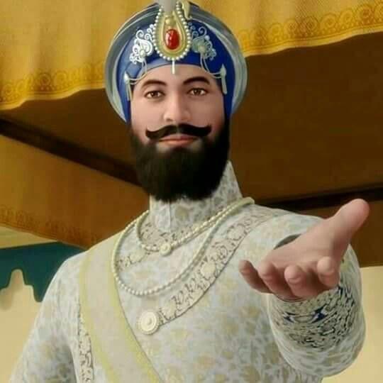 Gobind singh ji hd wallpapers sikhism punjabi culture - Shri guru gobind singh ji wallpaper ...