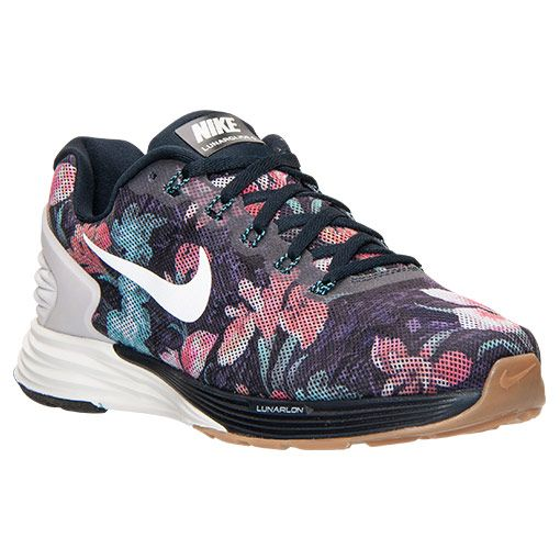 check out aac9f 468ac Women s Nike LunarGlide 6 Photosynthesis Running Shoes - 776260 401    Finish Line