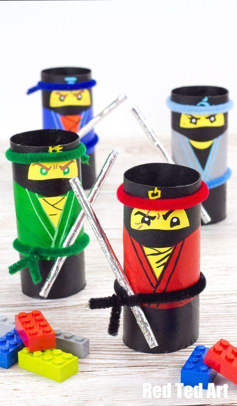 Photo of The LEGO NINJAGO Movie Craft – TP Roll Ninjas Dieser Beitrag wird von Warner B…