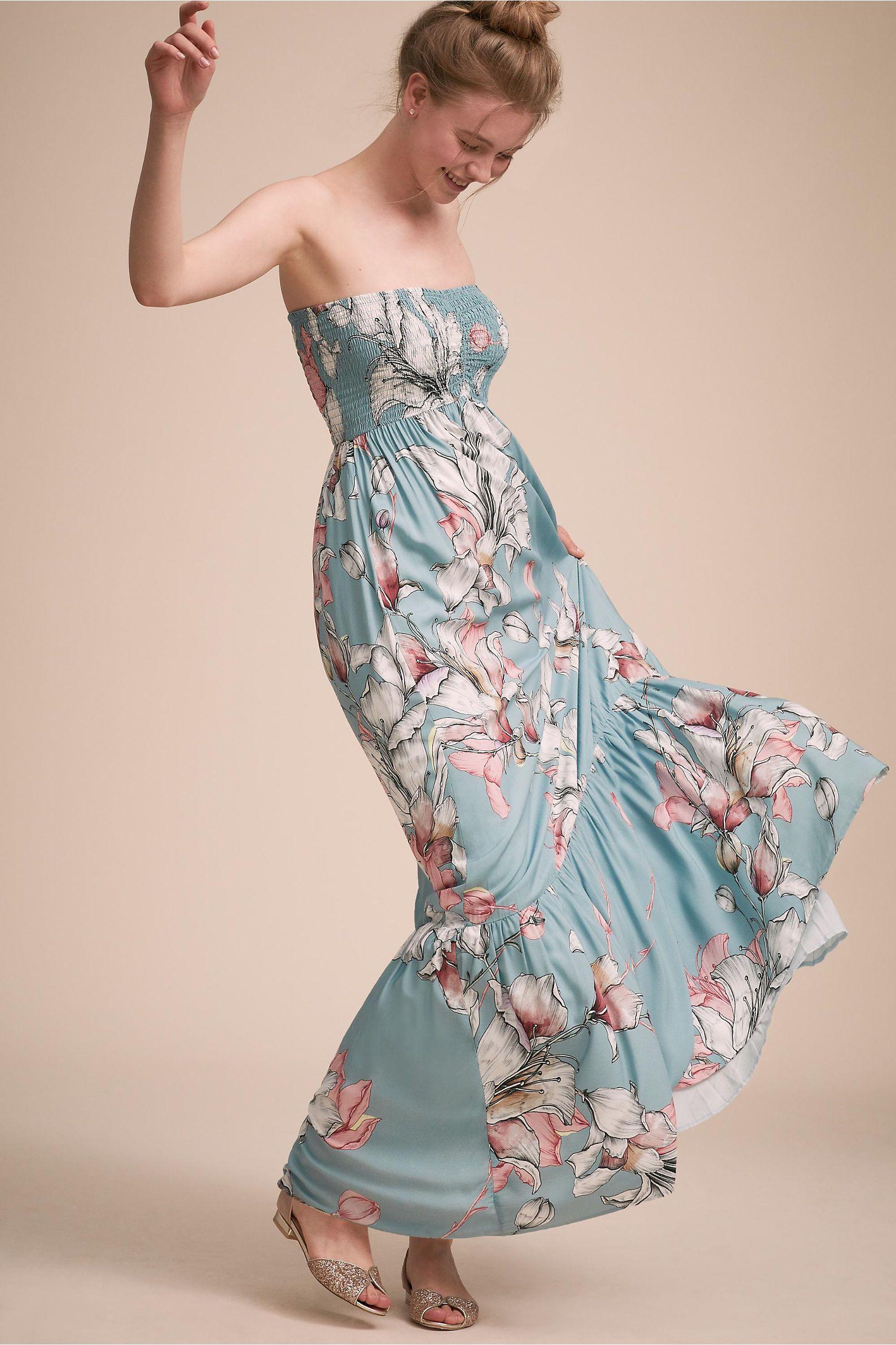 08ad2d7756e1a BHLDN s Plum Pretty Sugar Lolo Dress in Blue. BHLDN s Plum Pretty Sugar  Lolo Dress in Blue Beach Wedding Guests ...