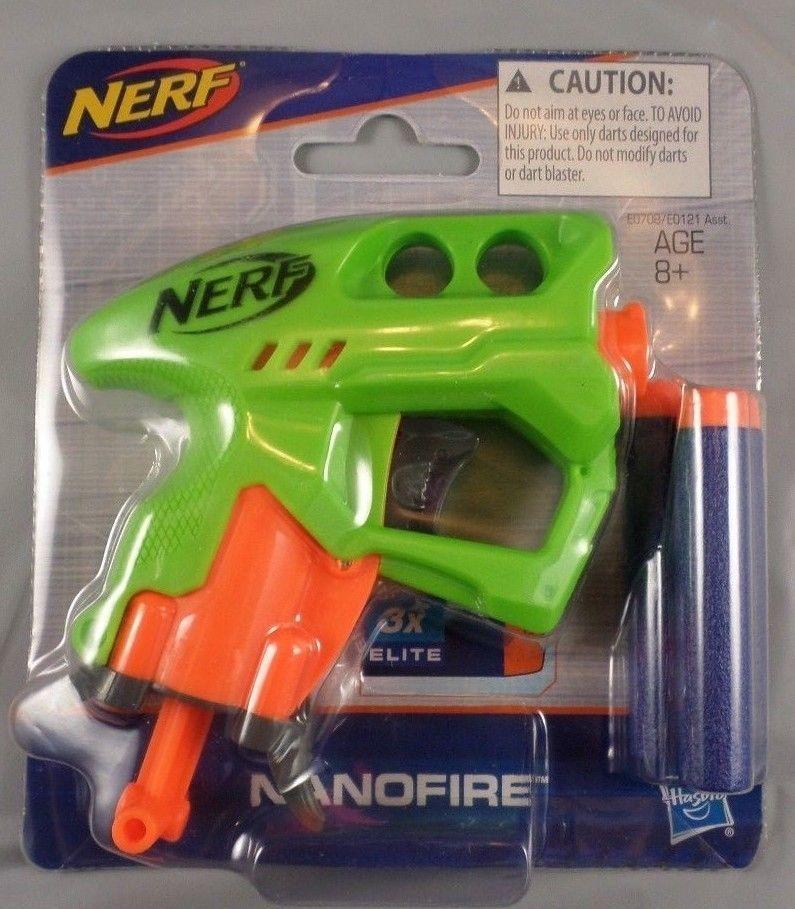 green Nerf N-Strike NanoFire