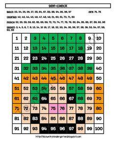 Leprechaun Hundreds Chart Hidden Picture Activity for St. Patricks Day Math product from Lil-Country-Kindergarten on TeachersNotebook.com