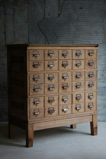 Japanese antique drawers