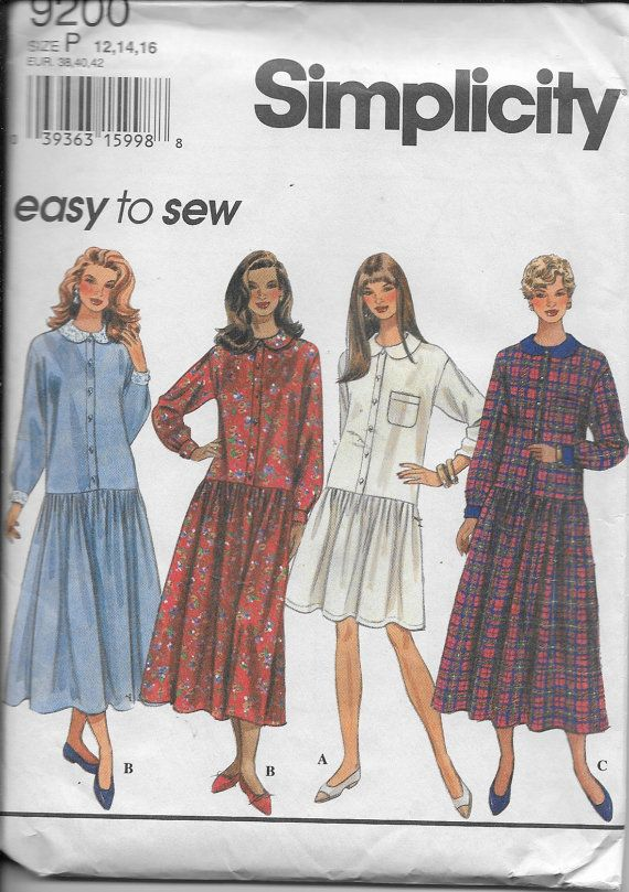Uncut 1980-1990 SM Vogue Sewing Pattern Choose Your Style