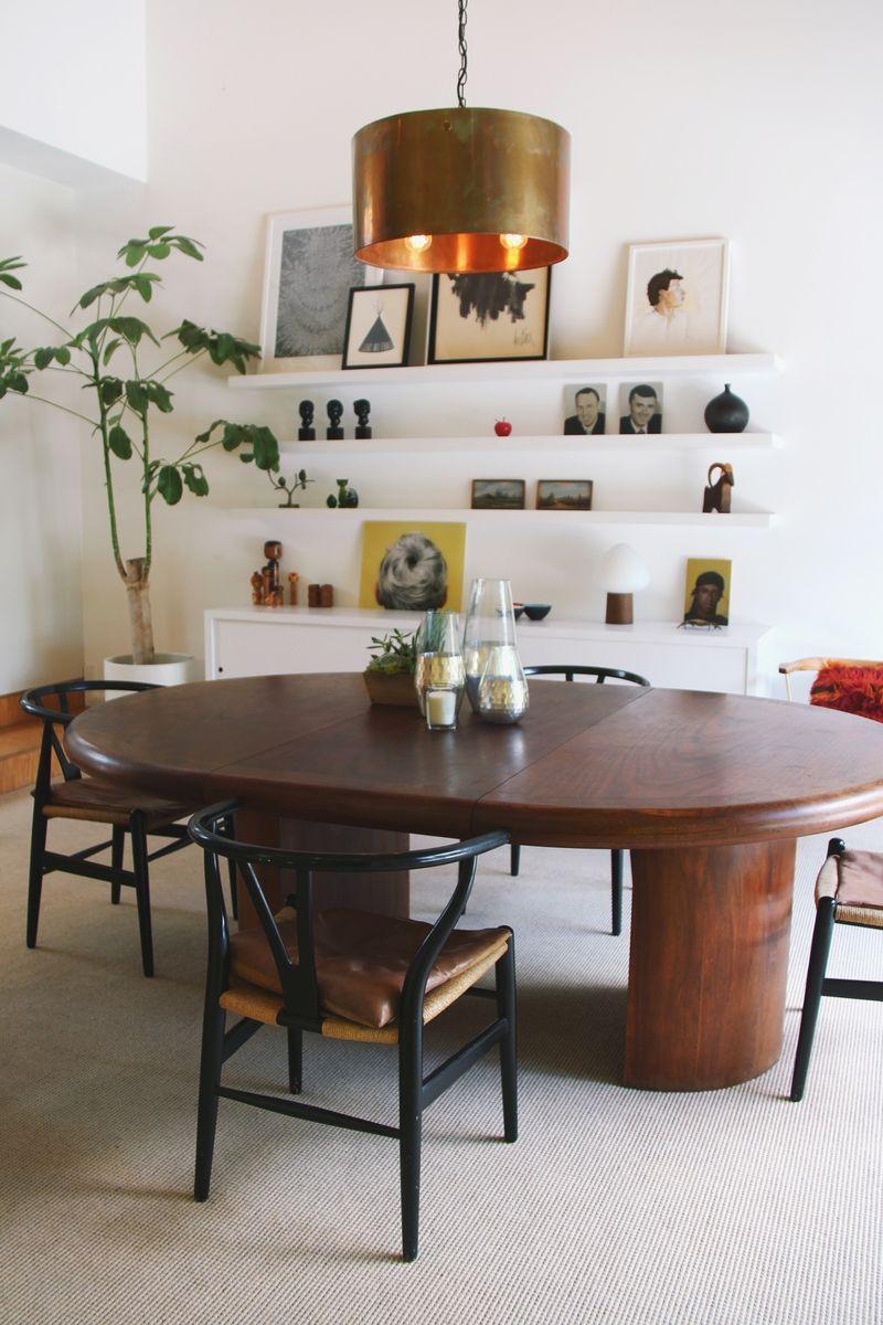 midcentury dining room | fresh living room design | pinterest