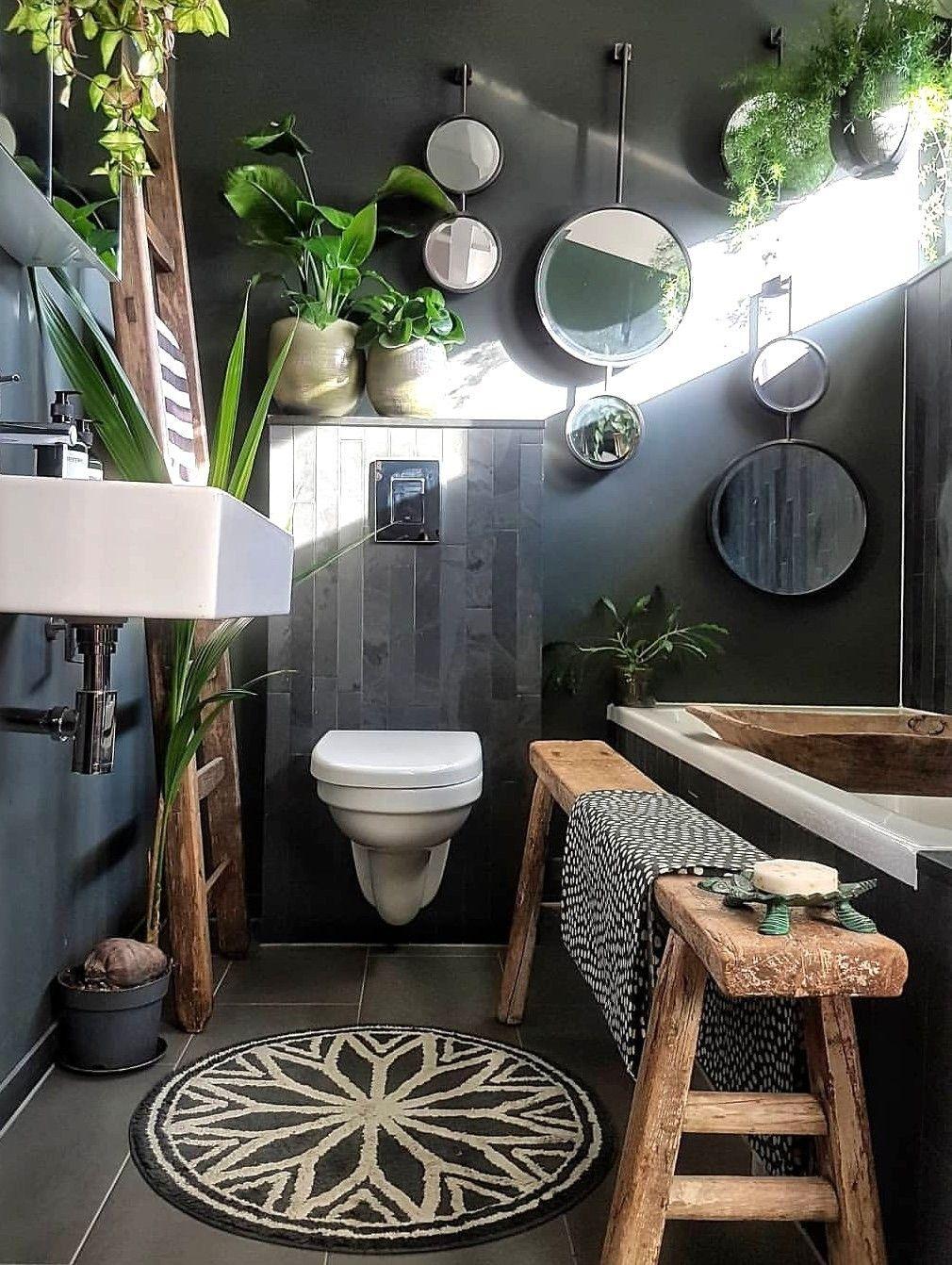 Badezimmer Deko Dschungel