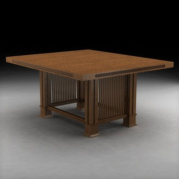 nombre husser table arquitecto frank lloyd wright fecha pas usa
