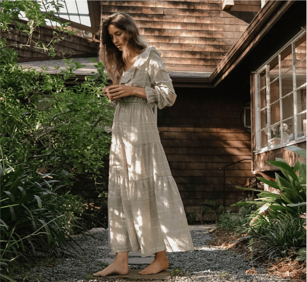 Casual House Dresses For A Socially Distant Summer Style Alana Dress Christy Dawn Dress Gardening Outfit [ 959 x 1042 Pixel ]