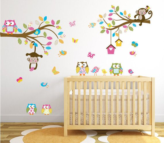 Nursery wall decal baby wall decal nursery wall decal girl baby