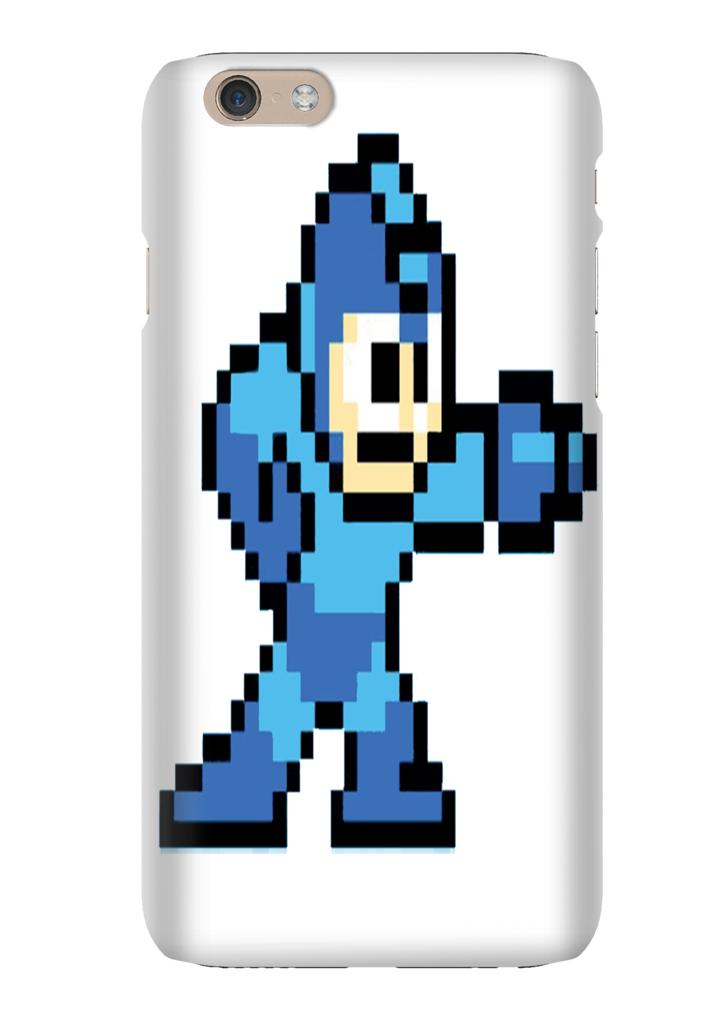 Mega Man NES 8 Bit iPhone 6 iPhone 6 Plus Phone Case